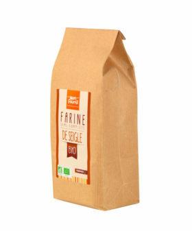 Farine semi-complète de Seigle Bio