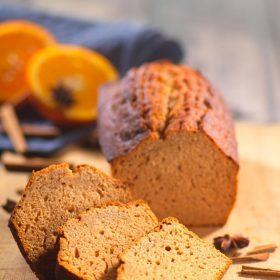 Pain d'épices moelleux à l'orange