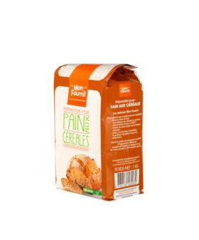 Farine complète pour Pain aux Céréales avec levure