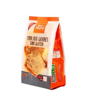 Farine pour Pain aux Graines Sans Gluten avec levure