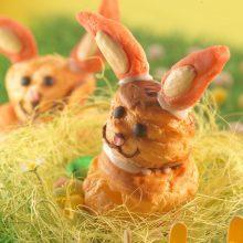 Lapin de Pâques tout choux
