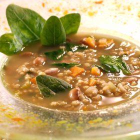 Soupe d'Orge céleste façon minestrone