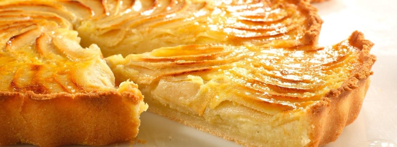 tarte aux pommes bio sans gluten mon fournil