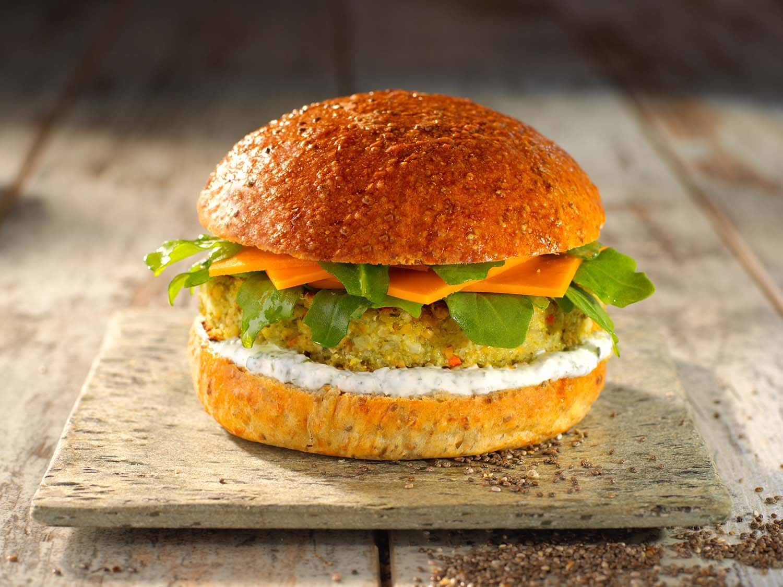 Hamburger veggie Mon Fournil