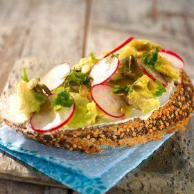 Tartine façon avocado toast