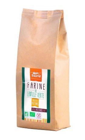 Farine de Lentille verte Bio