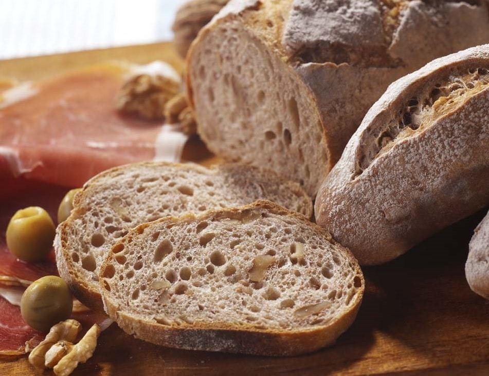 pain aux noix farine mon fournil