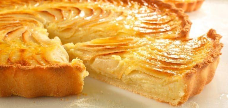 tarte aux pommes bio sans gluten farine mon fournil