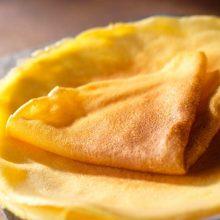 Crêpes à la farine de maïs