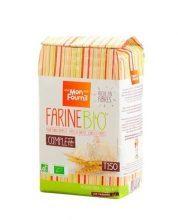 Farine de blé complète T150 Bio