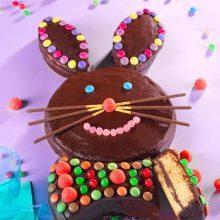 Gâteau lapin en génoise