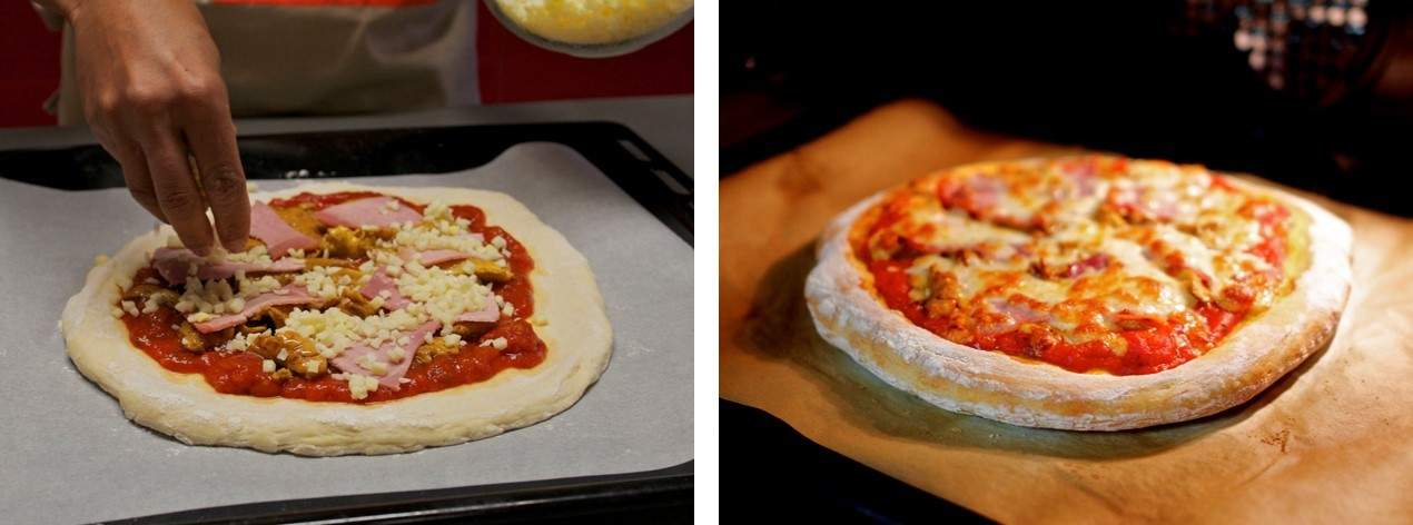 cuisson pizza maison mon fournil
