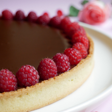 Tarte au chocolat @sweetnesslab